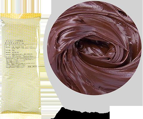 ガーナチョコクリーム 荷姿:1kg×5 / 10kg